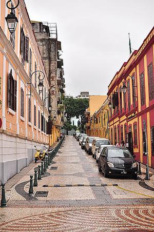 馬忌士街 Rua de Eduardo Marques