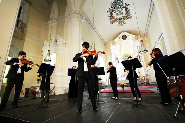 實行先進音樂教育 推廣音樂文化發展——澳門青年交響樂團協會