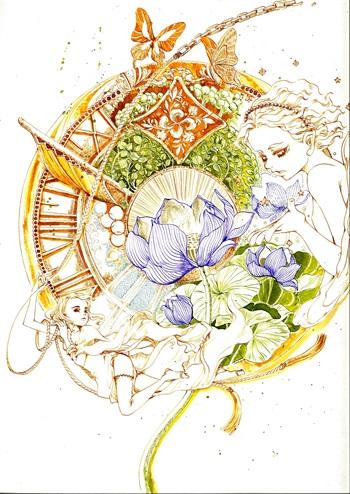 咖啡店品畫 ——用心打造「美女與野獸」聯畫展
