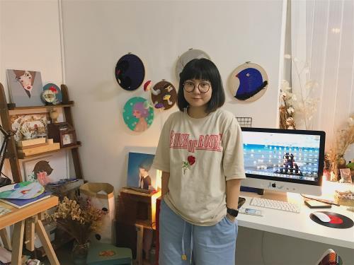 靜下來,傾聽自己內心的聲音 ——專訪插畫藝術家郝元春