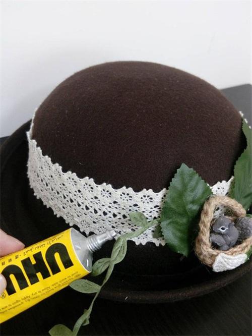 一起學做田園風圓頂帽