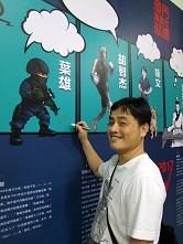 因為熱愛 所以堅持——專訪漫畫家葉雄