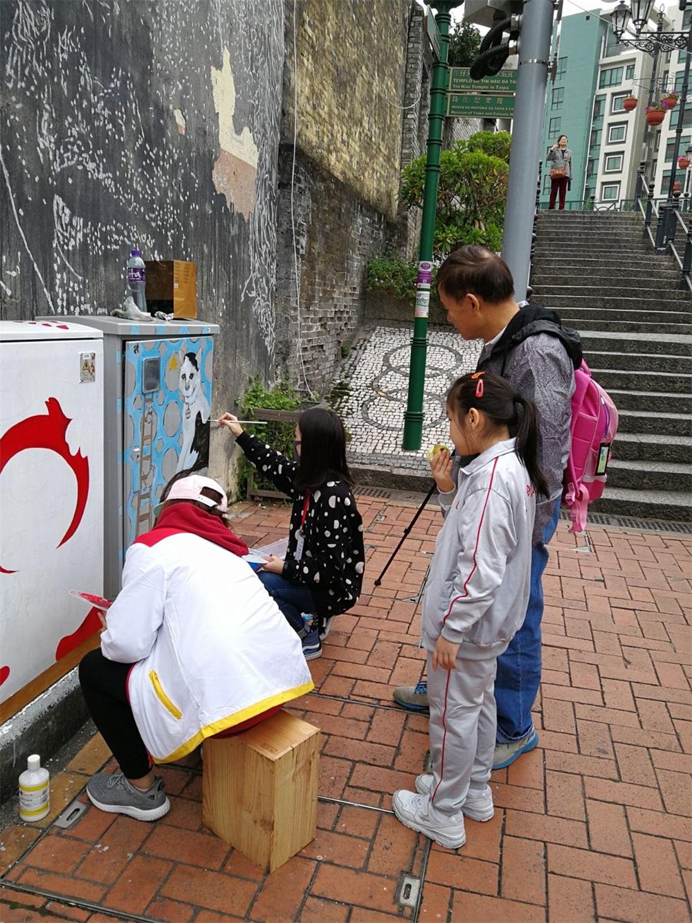 藝術活化,打造澳門特色社區文創