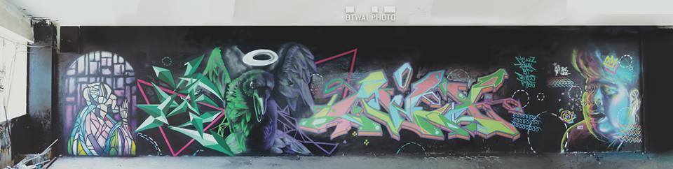 牆壁上的原始創作精神--本地塗鴉創作人BT