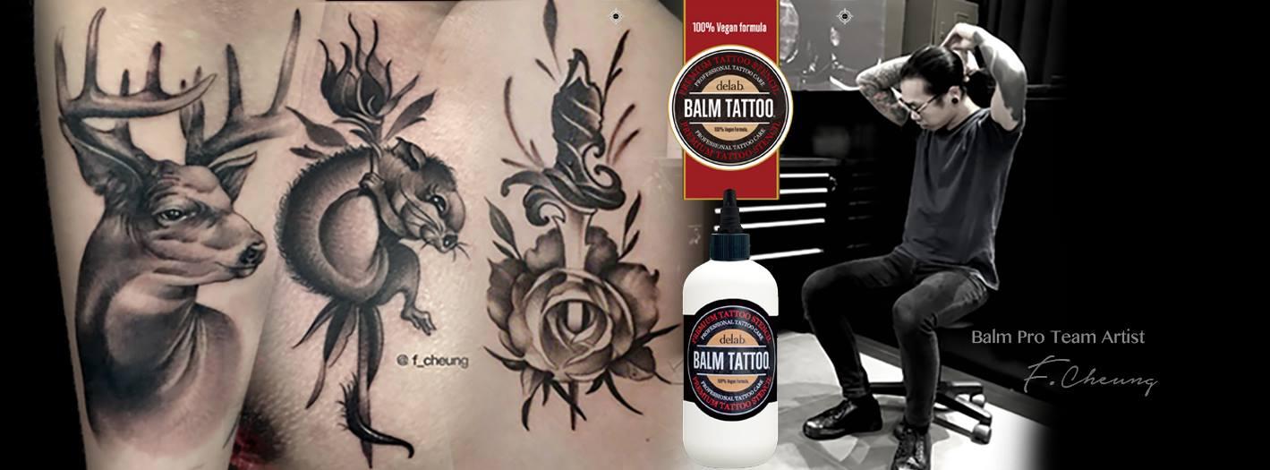 敢於出發,成就紋身路-專訪紋身師F Cheung