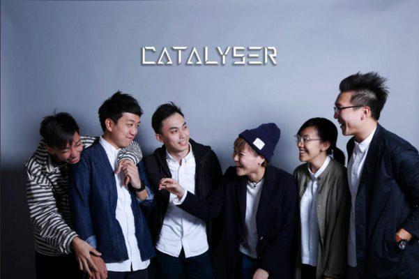 曾慶欣所在的樂隊Catalyser